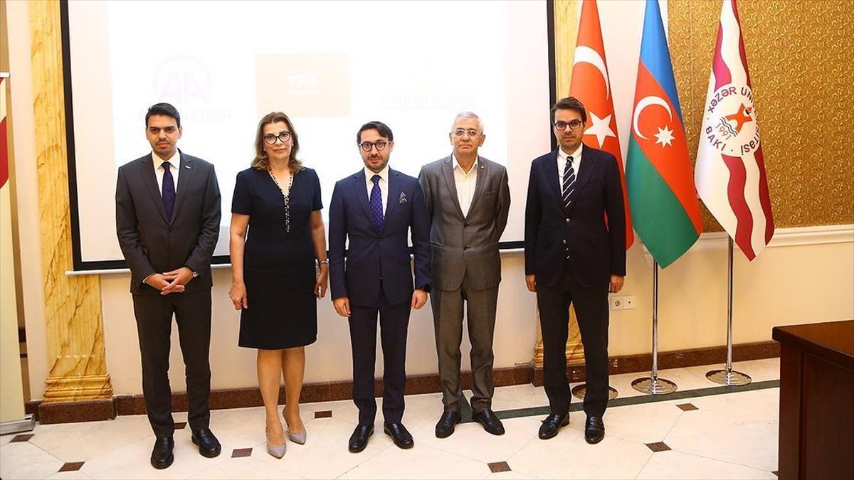 Azerbaycan'dan AA ve TRT'ye ödül