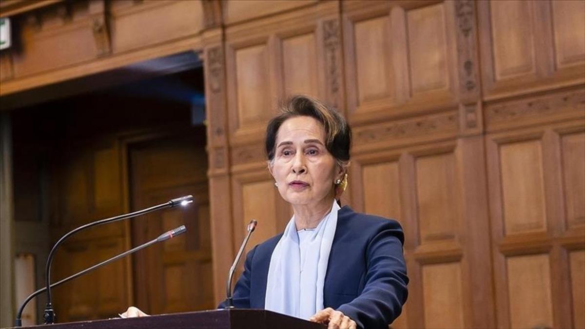 Myanmar'ın devrik lideri Suu Çii'nin yargılandığı davanın ikinci duruşması yapıldı