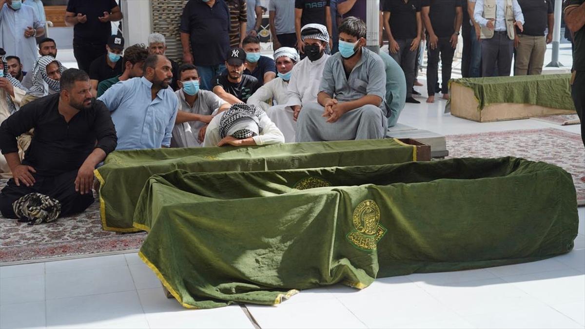 Irak'taki Kovid-19 hastanesinde çıkan yangında ölü sayısı 64'e yükseldi