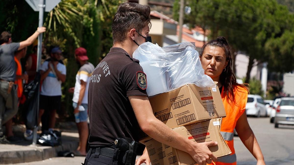 Türkiye, orman yangınlarıyla mücadele ve yaraların sarılması için tek yürek oldu