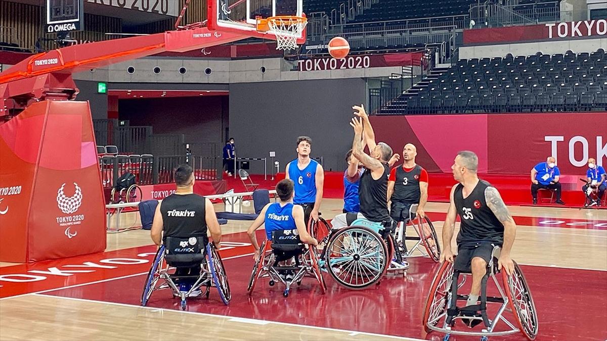 Tekerlekli Sandalye Basketbol Takımı'nın hedefi Tokyo 2020'den Türkiye'ye madalyayla dönmek