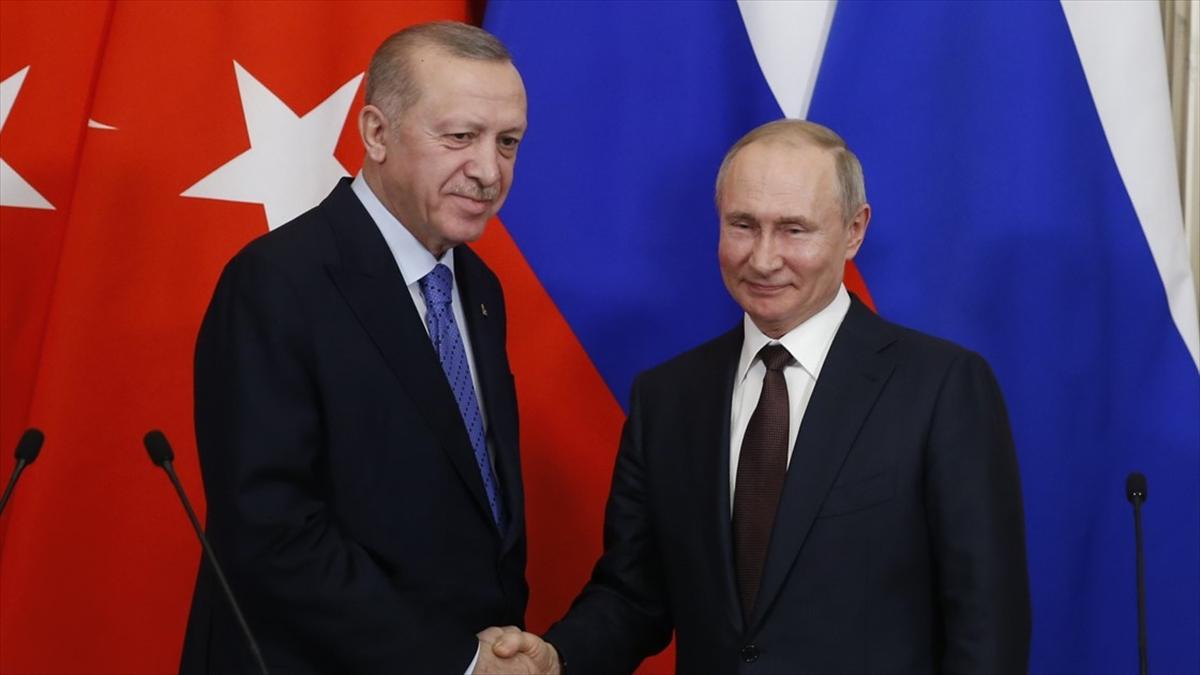 Erdoğan ve Putin, Suriye, Afganistan ve Libya meselelerini görüşecek