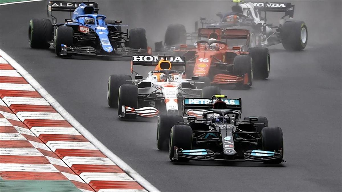 Formula 1 Türkiye Grand Prix'sini Bottas kazandı