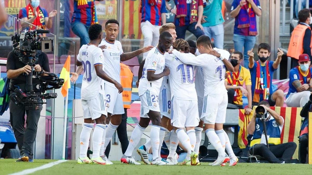 Real Madrid, El Clasico'yu deplasmanda kazandı
